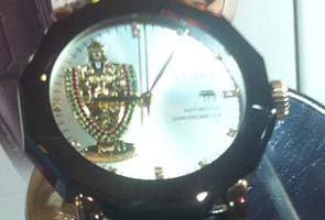 Lord Balaji at arm's length in a new luxury watch