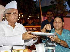 Alliance Colour Visible at Lalu Prasad's Iftar