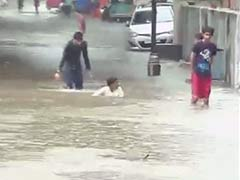 Heavy Rain Lashes Several Parts of Gujarat