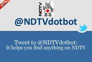 @NDTVdotbot: It helps you find anything on NDTV