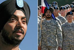 Sikh soldier completes US Army training with turban on