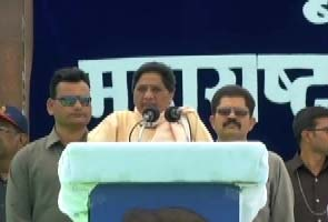 I want to give the Independence Day speech from Red Fort as Prime Minister: Mayawati