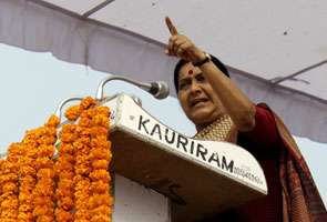 I'd like to make BJP more disciplined: Sushma Swaraj