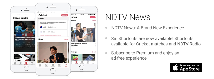 NDTV Apps for iPhone, iPad, Slate, BlackBerry, Android and